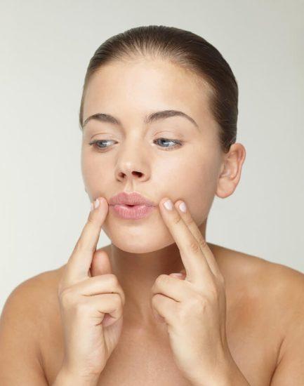 методы поднятия уголков рта
