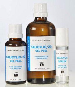 препараты для проведения салицилового пилинга