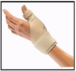 фиксация суставов кистей рук