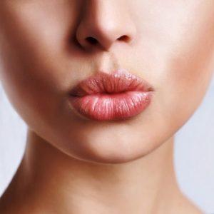 красивая форма губ