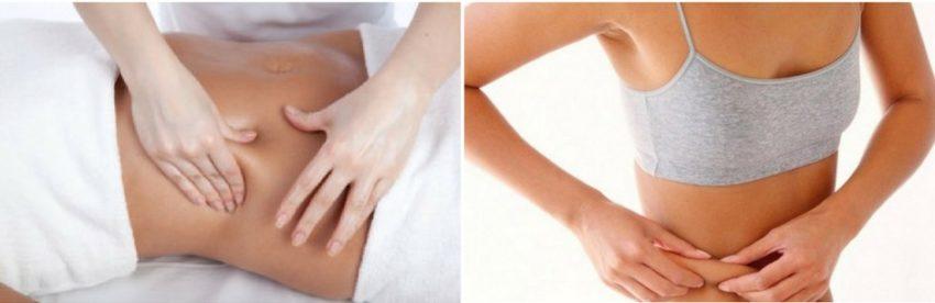 методика проведения массажа живота