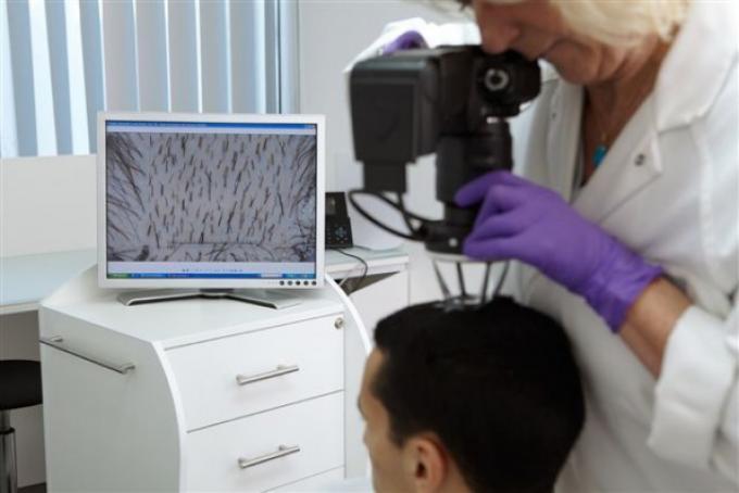 проведение диагностики волос