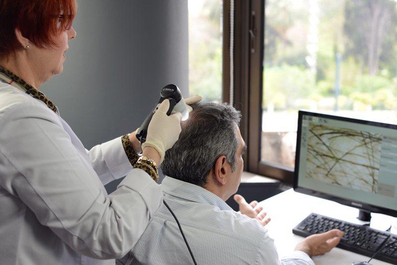 диагностика состояния волос