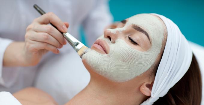 успокаивающая маска для лица после пилинга