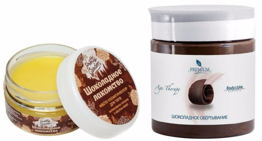 готовые средства для шоколадного обертывания