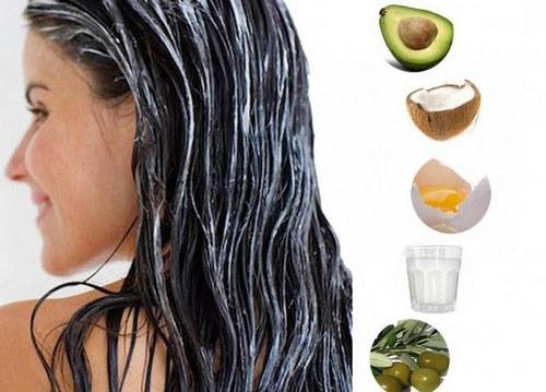 Домашние питательные маски для волос