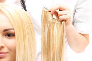 преимущества ленточного наращивания волос
