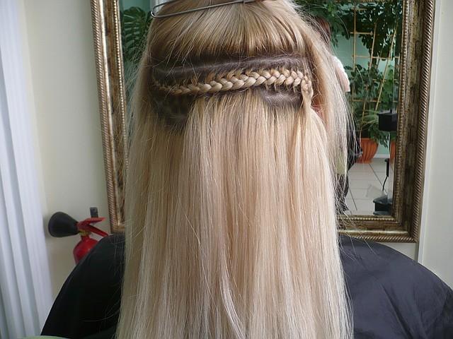 наращивание волос методики