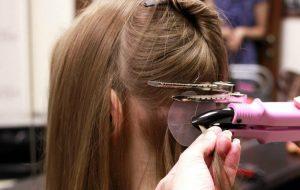 технология горячего наращивания волос