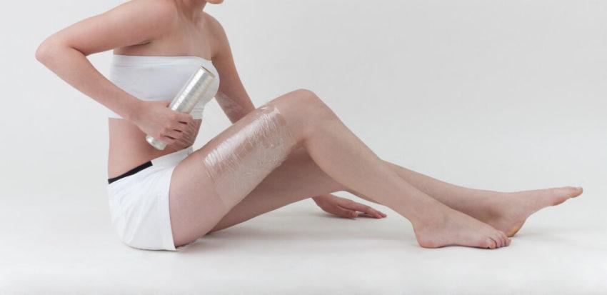 обертывание с кремом