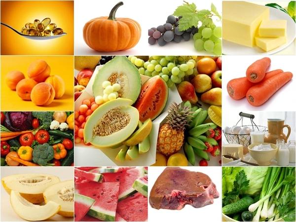 полезные продукты питания для кожи