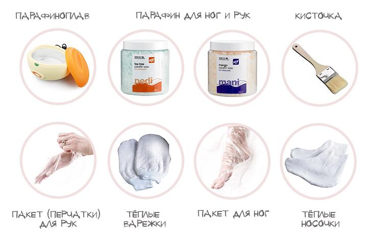Набор для парафиновой терапии рук и ног