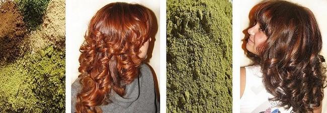 хна басма волосы