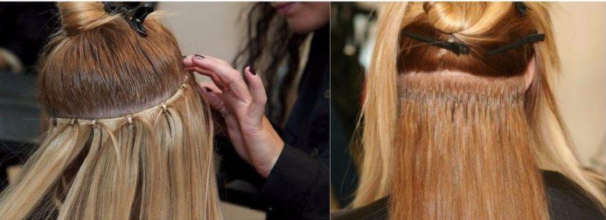 разные технологии наращивания волос