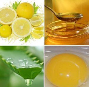 алое и яйцо и мед