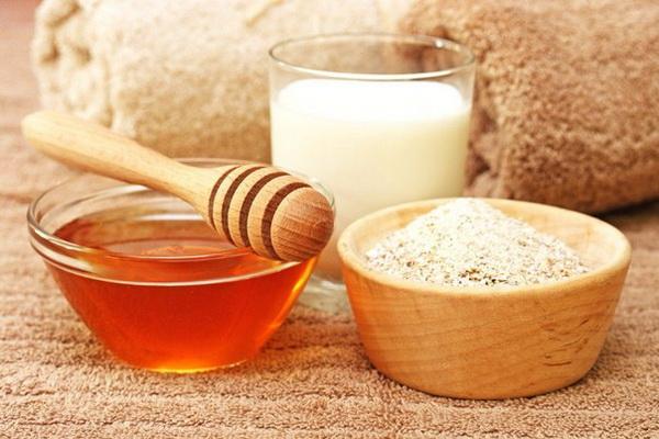 мед молоко и дрожжи