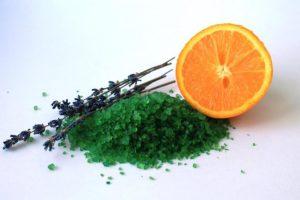морская соль апельсин