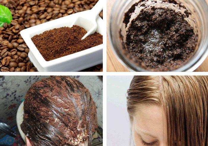 нанесение кофейной маски