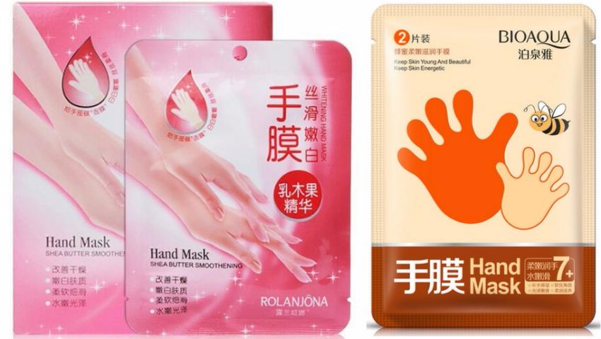 маски для рук