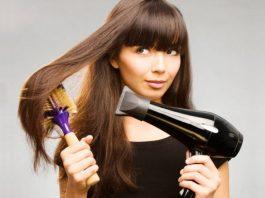 как бысро уложить волосы