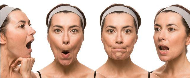 упражнения от морщин вокруг губ