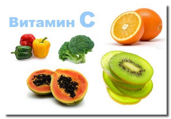 витамин С в фруктах