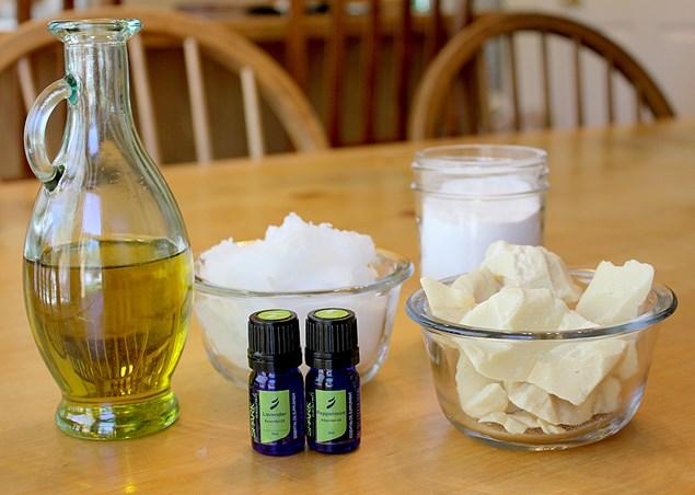 приготовление массажаного крема для лица