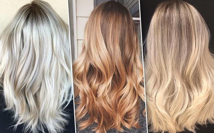 как выбрать краску блондинке