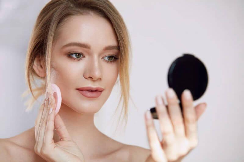 пудра для проблемной кожи лица