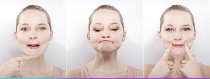 Комплекс упражнений от морщин для лица и шеи
