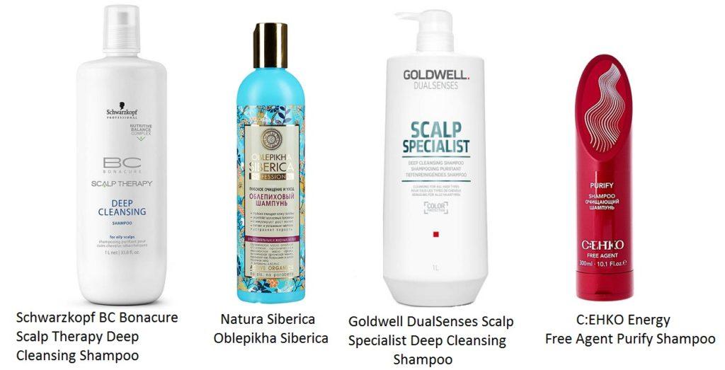 Шампуни для волос глубокой очистки
