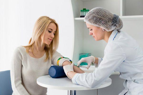 анализы крови с вены