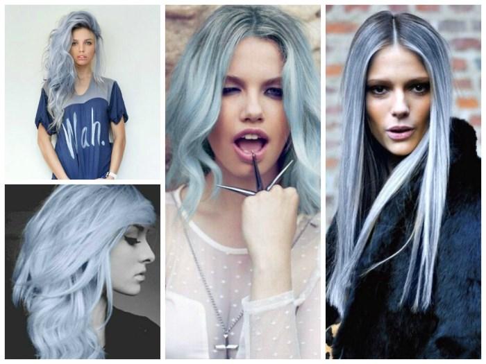 седой цвет волос