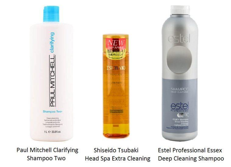 шампуни для глубокой очистки волос