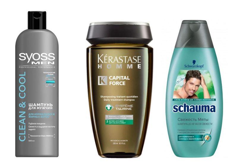 шампуни мужские для жирных волос