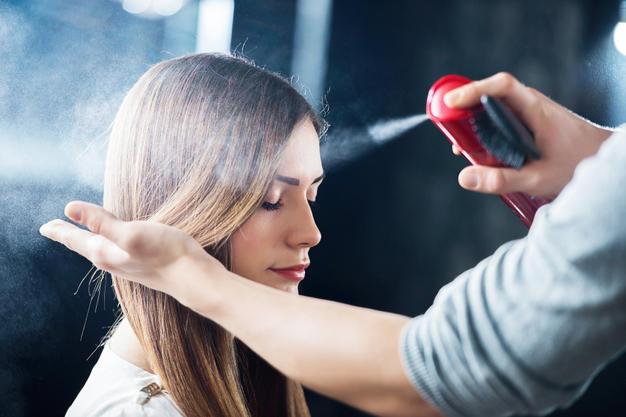 сухой лак для волос