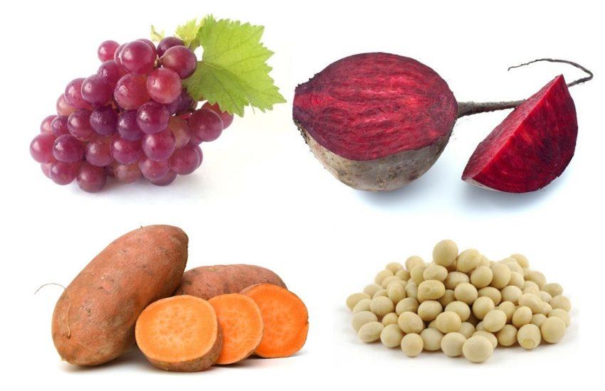 виноград-картофель-бобы