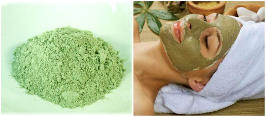 зеленая глина универсальная