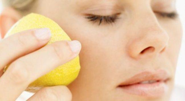 лимон для кожи лица пилинг