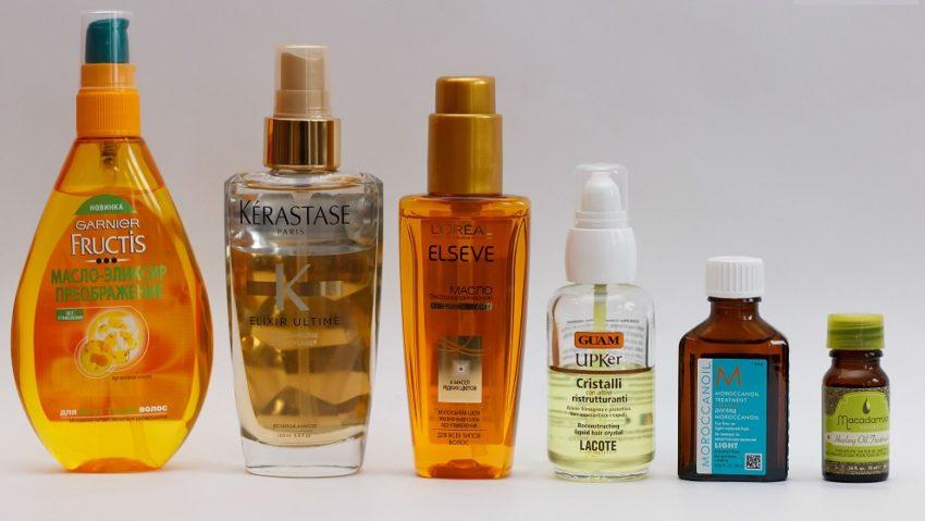 растительные масла для ухода за волосами