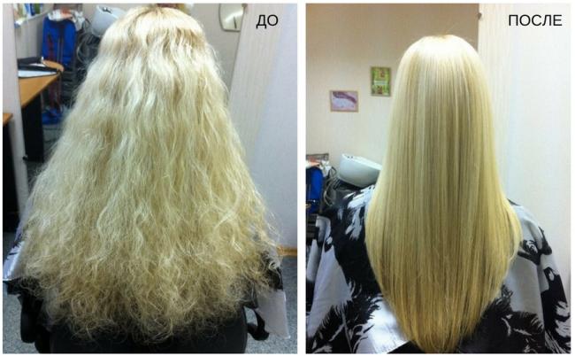 керапластика волос