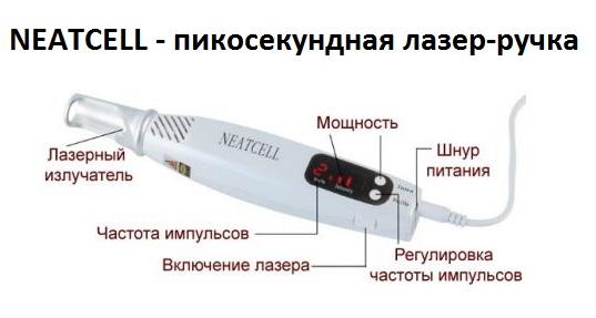 NEATCELL - пикосекундная лазер-ручка