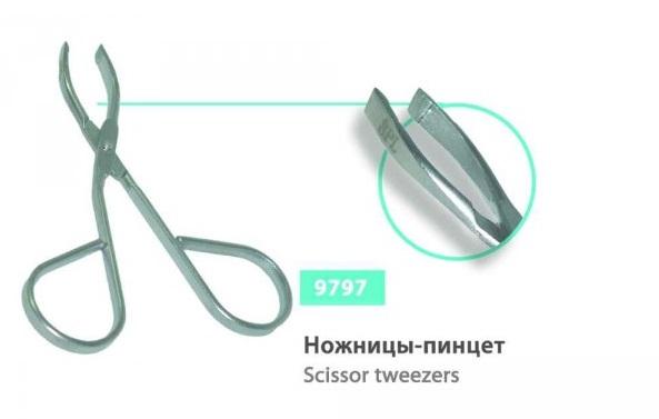 Ножницы-пинцет