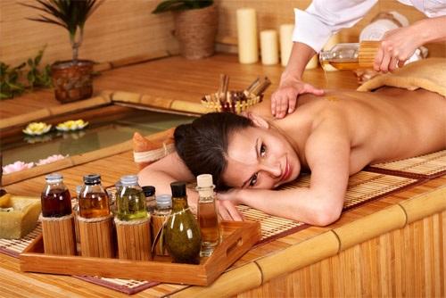 аювердический массаж груди