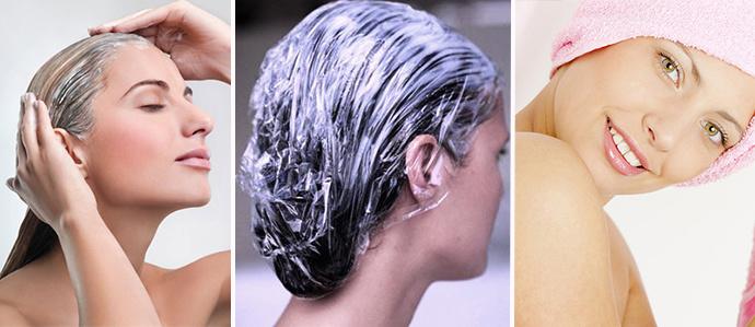 как нанести маску для волос